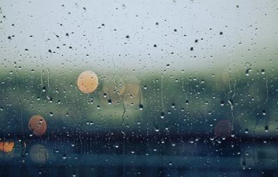 下雨天……